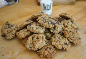 Brown Butter Cherry Chocolate Chip Cookies