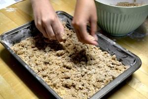 Adding crumbs